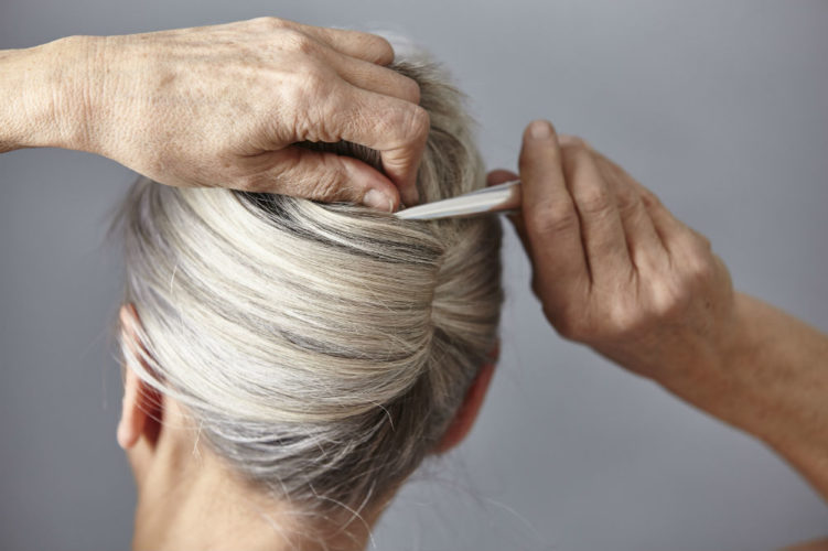 Reverse Gray Hair