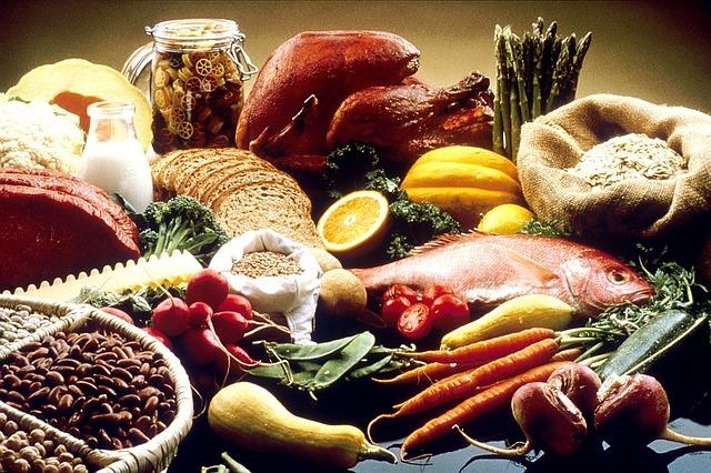 Food enriched in vitamins